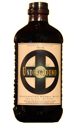 Underground Herbal Spirit Bottle
